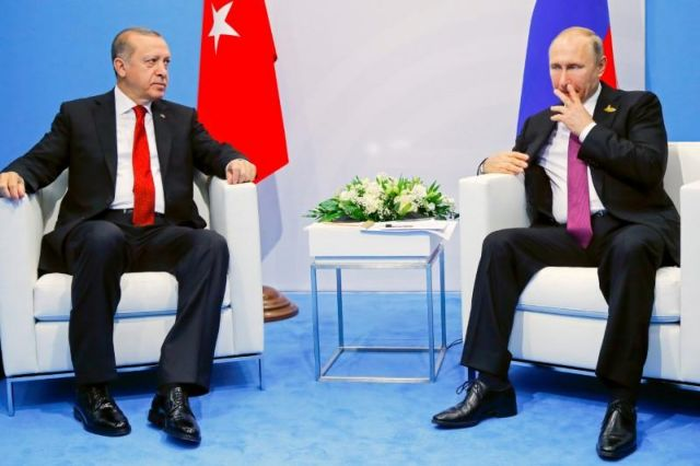 Συνομιλία Πούτιν – Ερντογάν για Συρία και ενεργειακά | tanea.gr