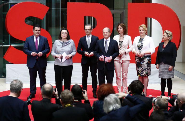 Ποιοι είναι οι υπουργοί του SPD που μπαίνουν στην κυβέρνηση   tanea.gr