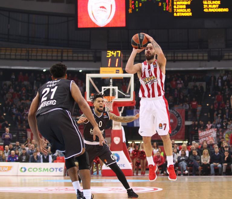 Ευρωλίγκα: Πέμπτη συνεχόμενη νίκη για τον Ολυμπιακό, 87-79 την Μπάμπεργκ | tanea.gr