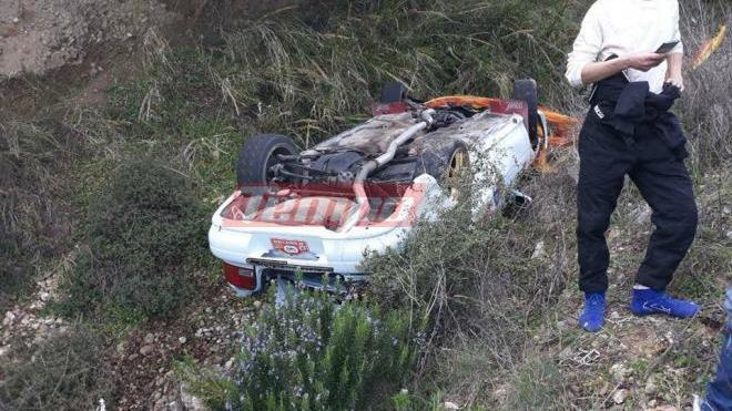 Σοβαρό ατύχημα σε αγώνα: Αυτοκίνητο έπεσε σε χαράδρα | tanea.gr