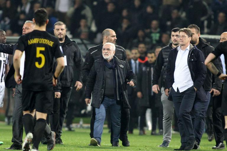 Εισαγγελική παρέμβαση για την εισβολή Σαββίδη στο γήπεδο | tanea.gr
