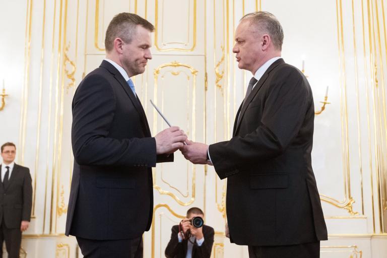 «Οχι» από τον πρόεδρο της Σλοβακίας στη σύνθεση κυβέρνησης Πελεγκρίνι | tanea.gr