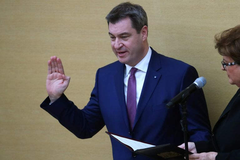Νέος πρωθυπουργός της Βαυαρίας ο Μάρκους Σέντερ | tanea.gr
