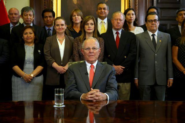 Το σκάνδαλο των κατασκευών έριξε τον πρόεδρο του Περού | tanea.gr