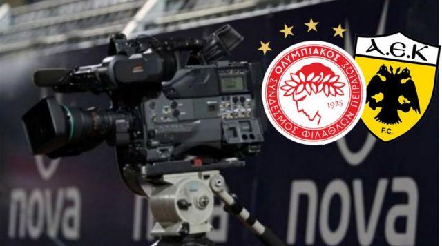 Επίσημα στη NOVA ο Ολυμπιακός και η ΑΕΚ   tanea.gr