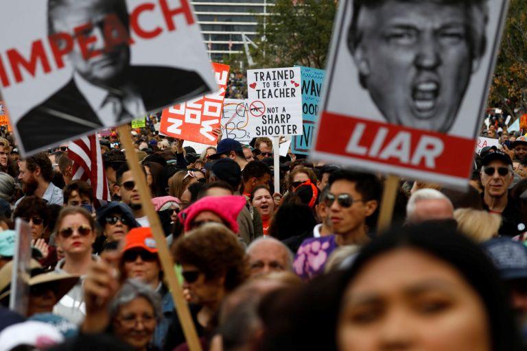 ΗΠΑ: Λαοθάλασσα ενός εκατ. διαδηλωτών κατά της οπλοκατοχής | tanea.gr