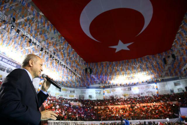Ερντογάν ο πολεμοχαρής | tanea.gr