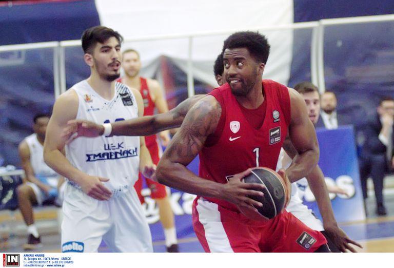 Α1 μπάσκετ: «Αποστολή εξετελέσθη» για τον Ολυμπιακό στην Αμαλιάδα | tanea.gr
