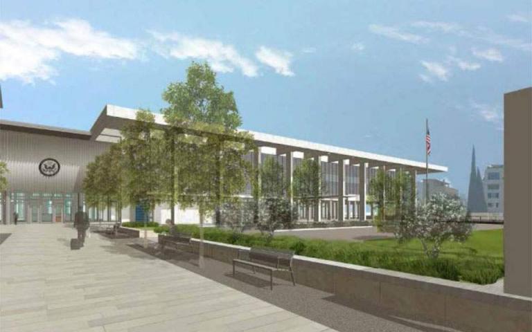 Ξεκίνησε η ριζικη ανακαίνιση της πρεσβείας των ΗΠΑ | tanea.gr