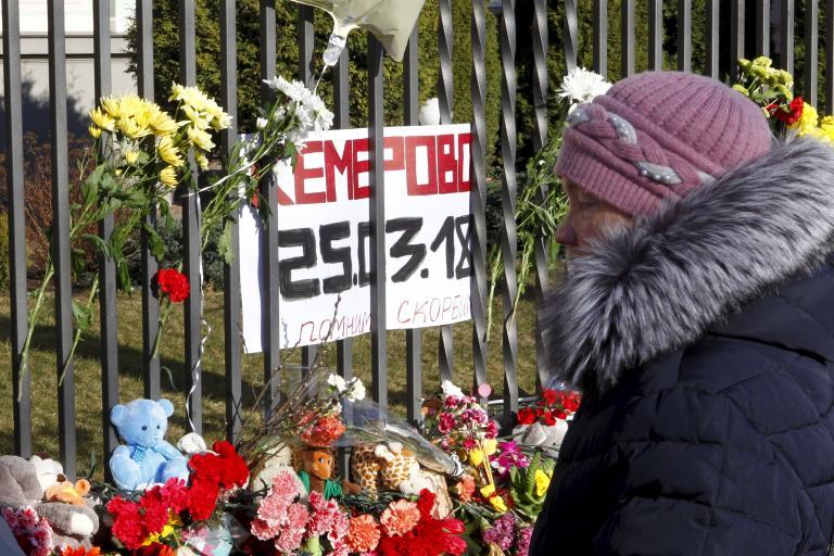 Ρωσία: Συνεχίζονται οι συλλήψεις για τη φονική πυρκαγιά στο εμπορικό   tanea.gr
