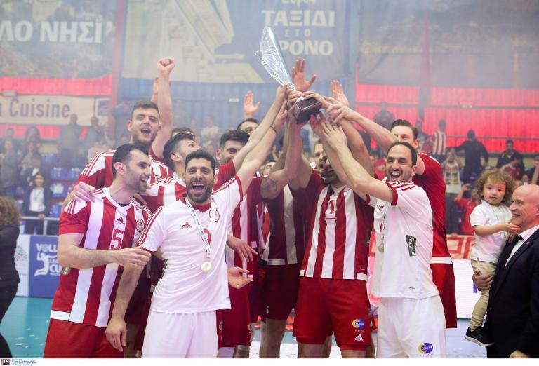 Βόλεϊ: Ο Ολυμπιακός κατέκτησε για πέμπτη φορά το Λιγκ Καπ | tanea.gr