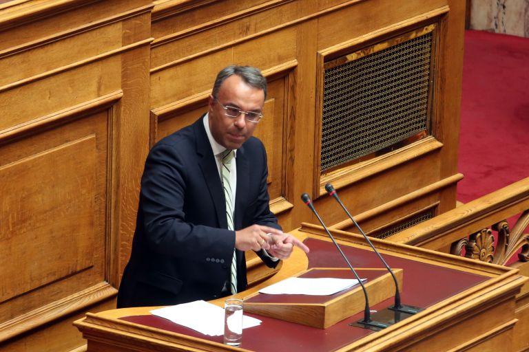 Σταϊκούρας: Το πλεόνασμα οφείλεται στην επιλογή της υπερφορολόγησης | tanea.gr