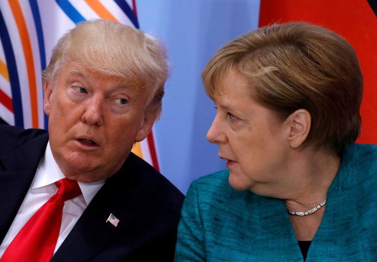 Συνάντηση Τραμπ – Μέρκελ στον Λευκό Οίκο στις 27 Απριλίου   tanea.gr