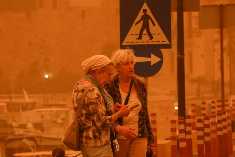 Επιστρέφει η αφρικανική σκόνη: «Σαχάρα» ξανά Αθήνα και Ηράκλειο | tanea.gr