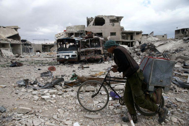 Συρία: Συμφωνία για απομάκρυνση αμάχων από την αν. Γκούτα | tanea.gr