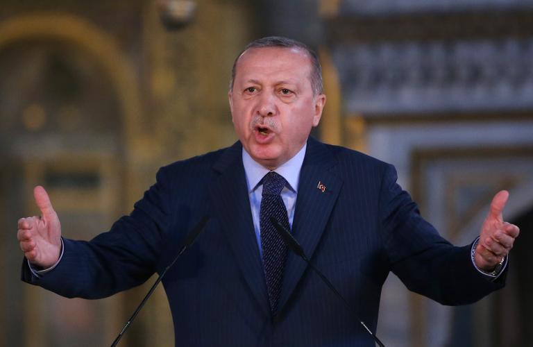 Τρομοκράτη αποκάλεσε τον Νετανιάχου ο Ερντογάν   tanea.gr