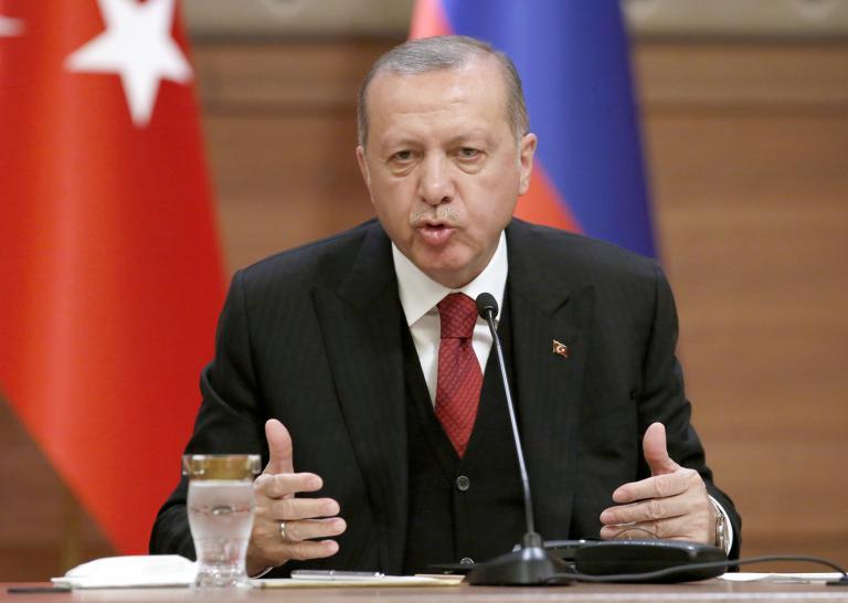 Ερντογάν: Η Γαλλία υποθάλπει τρομοκράτες | tanea.gr