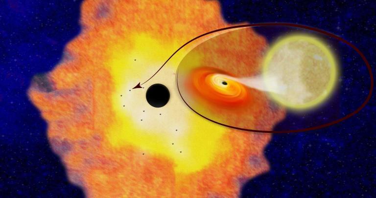 Ενδείξεις για χιλιάδες μαύρες τρύπες στο κέντρο του γαλαξία μας | tanea.gr
