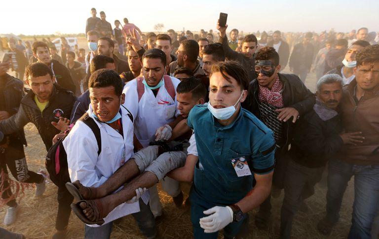 Δηλώσεις ντροπής από Λίμπερμαν για την σφαίρα κατά Παλαιστίνιου   tanea.gr