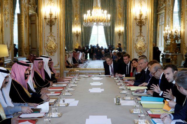 Συμφωνίες 18 δισ. δολαρίων μεταξύ Γαλλίας και Σ. Αραβίας | tanea.gr