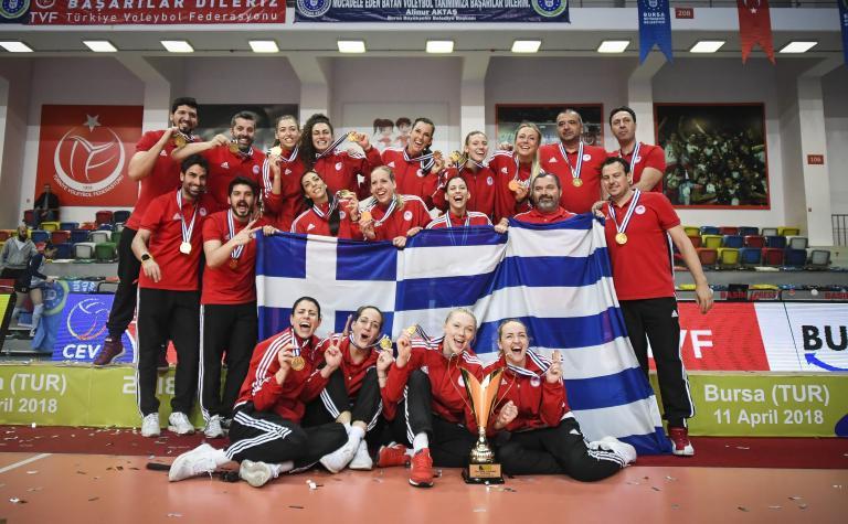 Βόλεϊ: Τα κορίτσια του Ολυμπιακού πήραν την κούπα στην Προύσα | tanea.gr