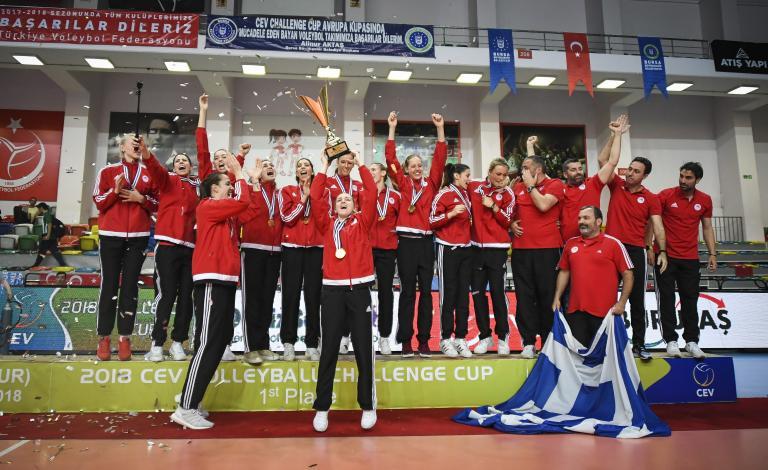«Συγχαρητήρια» στα κορίτσια του βόλεϊ από την ΠΑΕ και την ΚΑΕ Ολυμπιακός | tanea.gr
