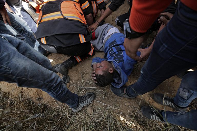 Τέσσερις Παλαιστίνιοι νεκροί στη Λωρίδα της Γάζας   tanea.gr