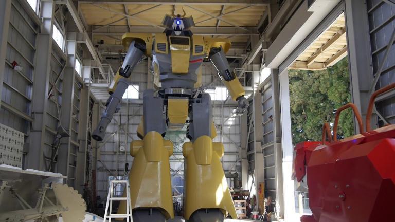 Ρομπότ «γίγας» ύψους 8,5 μέτρων! (βίντεο) | tanea.gr
