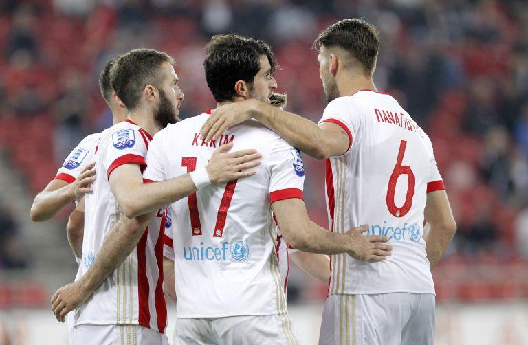 Με πρωταγωνιστή τον Φορτούνη ο Ολυμπιακός 5-1 την Κέρκυρα | tanea.gr