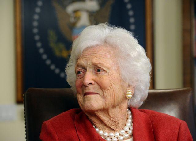 Πέθανε η πρώην Πρώτη Κυρία των ΗΠΑ Μπάρμπαρα Μπους | tanea.gr