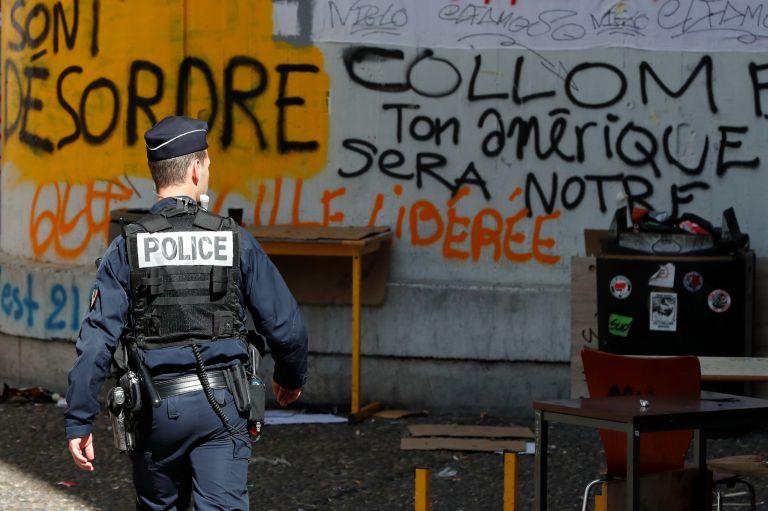 Γαλλία: Η αστυνομία διέλυσε την κατάληψη στην Τολμπιάκ   tanea.gr
