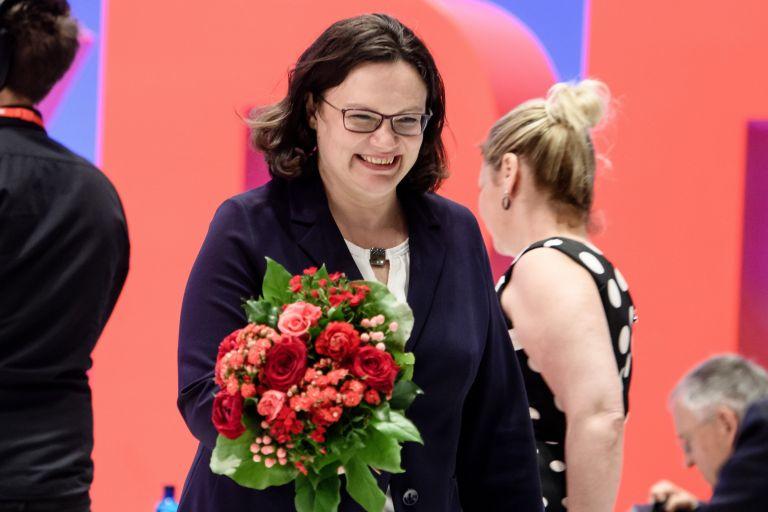 Αντρέα Νάλες: Αθυρόστομη και «χαμαιλέων» η πρώτη γυναίκα στην ηγεσία του SPD | tanea.gr