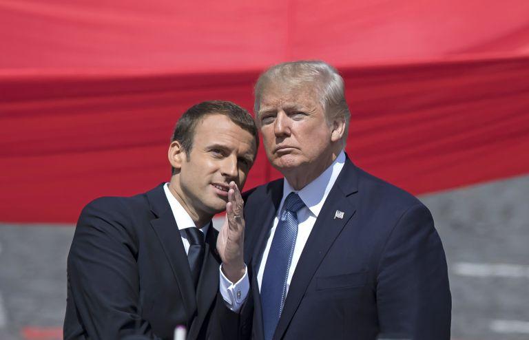 ΗΠΑ: Επίσκεψη Μακρόν στο Λευκό Οίκο | tanea.gr