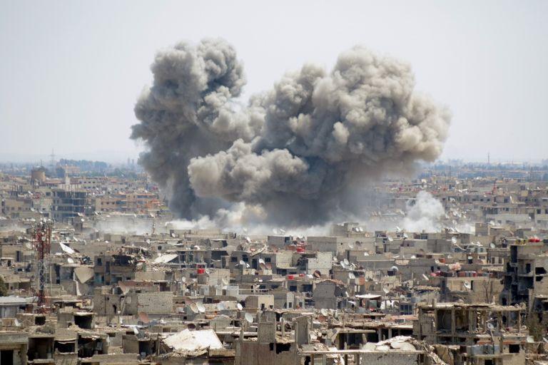 Η Συρία κατέρριψε 46 πυραύλους κατά την επίθεση των ΗΠΑ και των συμμάχων | tanea.gr