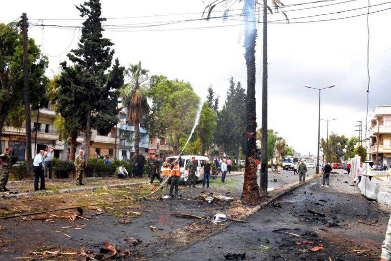Συμφωνία για αποχώρηση των ανταρτών από την Χομς | tanea.gr