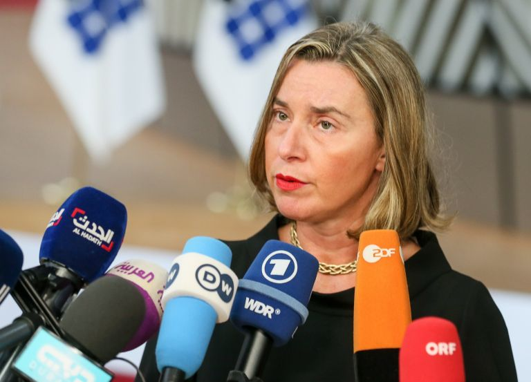 Μογκερίνι: Η ΕΕ επισπεύδει την εισφορά για τους παλαιστίνιους πρόσφυγες | tanea.gr