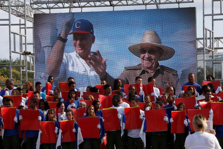 Κούβα: O Ραούλ Κάστρο στις εκδηλώσεις για την Πρωτομαγιά | tanea.gr