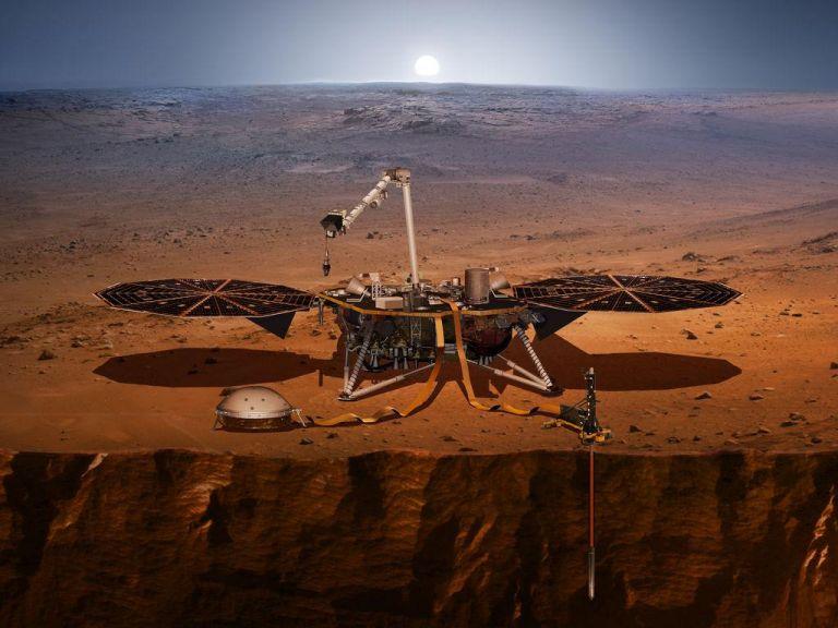Εκτοξεύεται το ΙnSight της NASA που θα μελετήσει την «καρδιά» του Αρη | tanea.gr