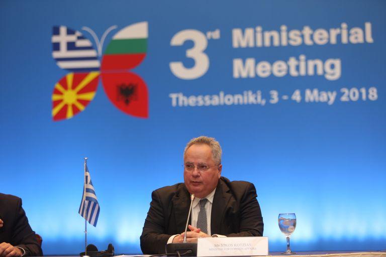 Ικανοποίηση για την υπουργική Ελλάδας- Αλβανίας- Βουλγαρίας- ΠΓΔΜ   tanea.gr