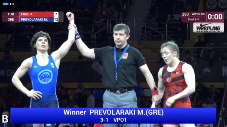 Πάλη: Χάλκινο μετάλλιο η Πρεβολαράκη στο Ευρωπαϊκό Πρωτάθλημα | tanea.gr