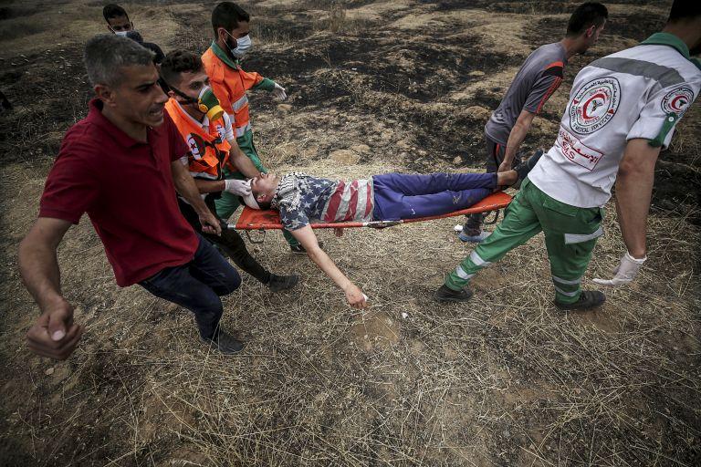 Εξι Παλαιστίνιοι νεκροί από έκρηξη στη Γάζα | tanea.gr