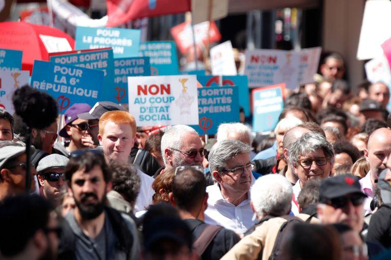 Γαλλία: Πάνω από 40.000 συμμετείχαν στο «πάρτι για τον Μακρόν» | tanea.gr