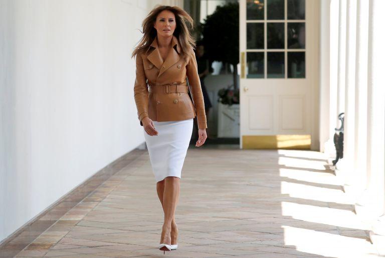 Εντός των επόμενων ημερών εξιτήριο για τη Μελάνια Τραμπ | tanea.gr