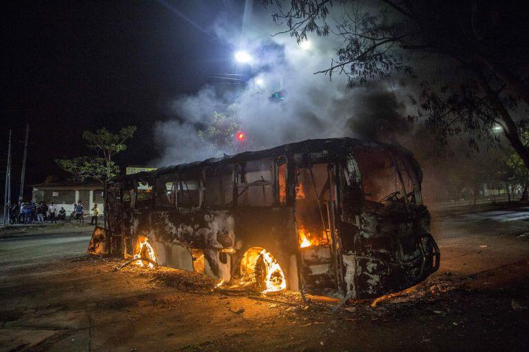 Νέα επεισόδια μεταξύ διαδηλωτών και αστυνομίας στη Νικαράγουα | tanea.gr