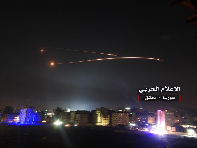 Νέα πυραυλική επίθεση του Ισραήλ κατά της Συρίας | tanea.gr