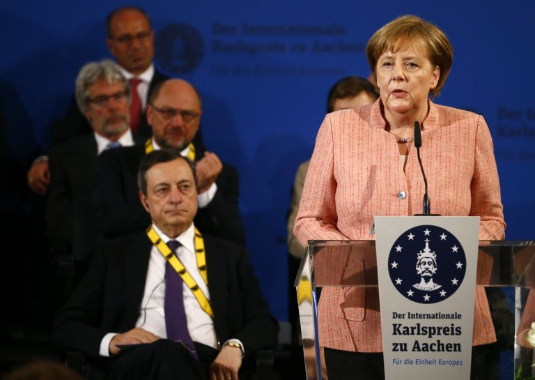Μέρκελ: Η Ευρώπη δεν μπορεί να υπολογίζει στις ΗΠΑ για προστασία   tanea.gr
