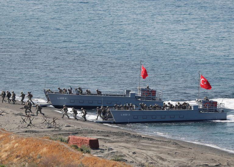 Eπίδειξη στρατιωτικού… μεγαλείου από την Aγκυρα με την άσκηση Beyaz Firtina | tanea.gr