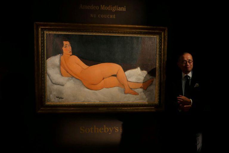 Ενα «Ξαπλωμένο γυμνό» του Μοντιλιάνι πωλήθηκε 157,2 εκατ. δολάρια | tanea.gr