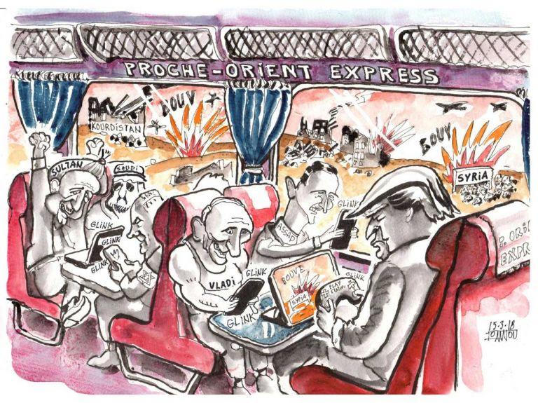 Έκθεση των Ελλήνων γελοιογράφων με θέμα τον Πόλεμο στο μετρό του Συντάγματος   tanea.gr