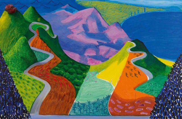 Διπλό ρεκόρ με $28,5 εκατομμύρια για πίνακα του Χόκνι   tanea.gr